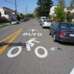 Now  this is what you call a sharrow!