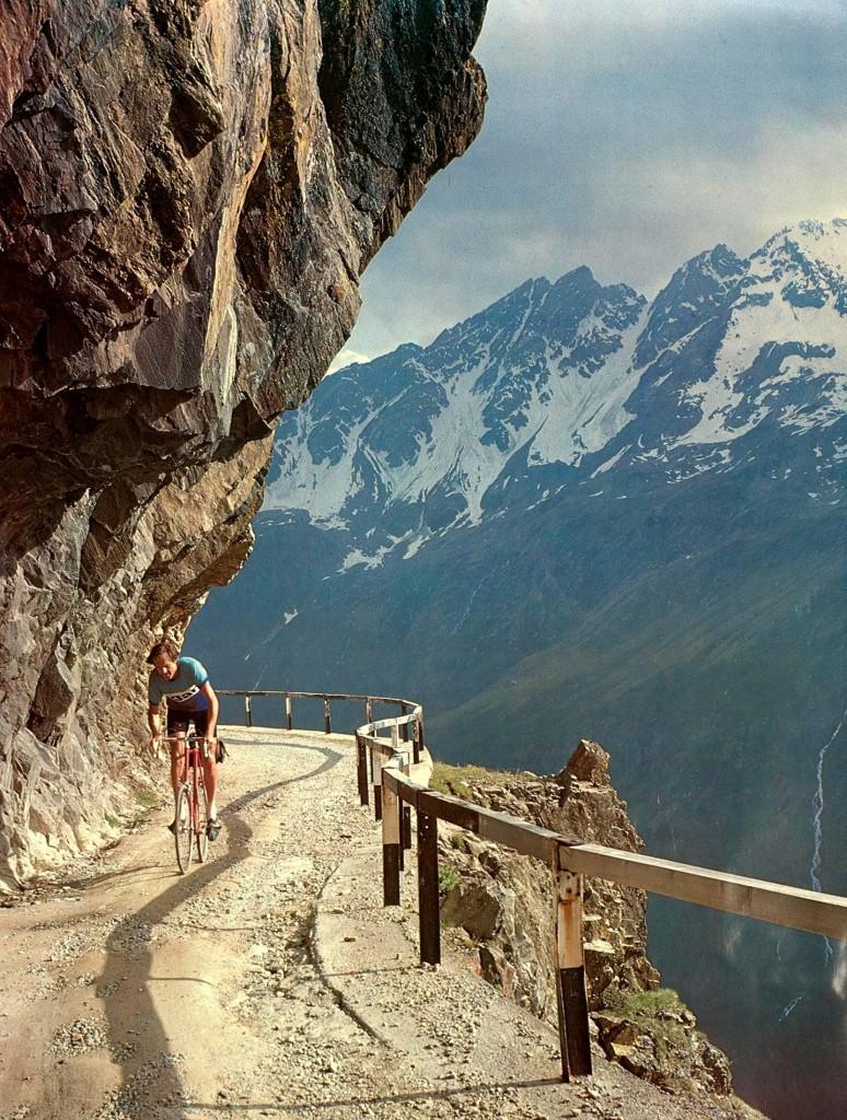 Giro D Italia 2010 Stage 20 Gavia Pass Bicycle Climb Of