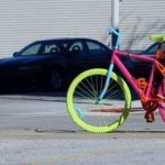 The Mystery of Muskegon: Painted bicycles