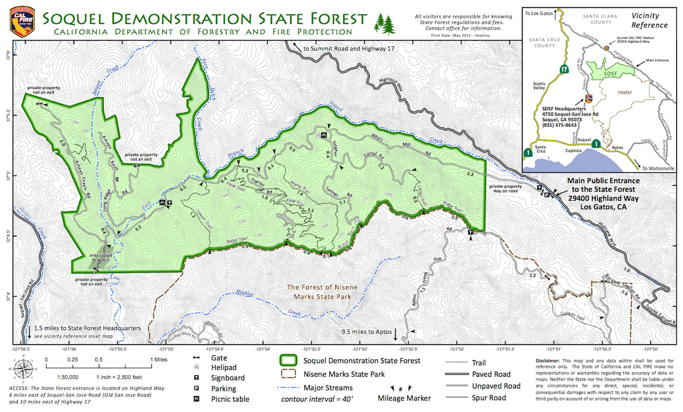 Soquel Demonstration State Forrest